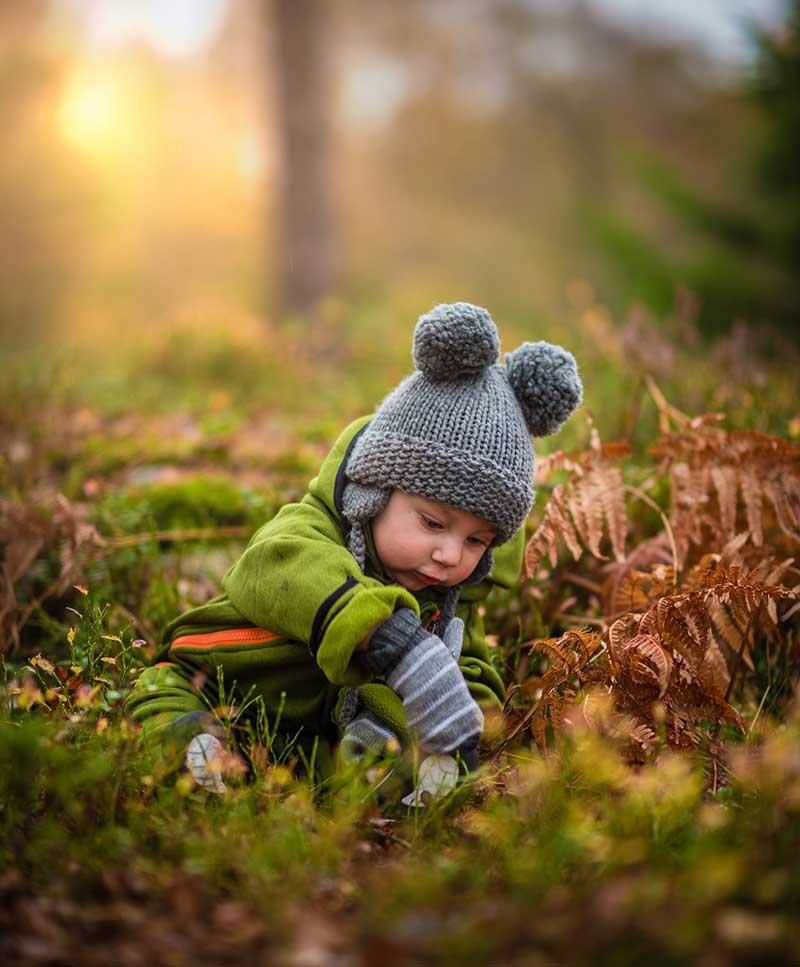 how to teach newborn learn skills